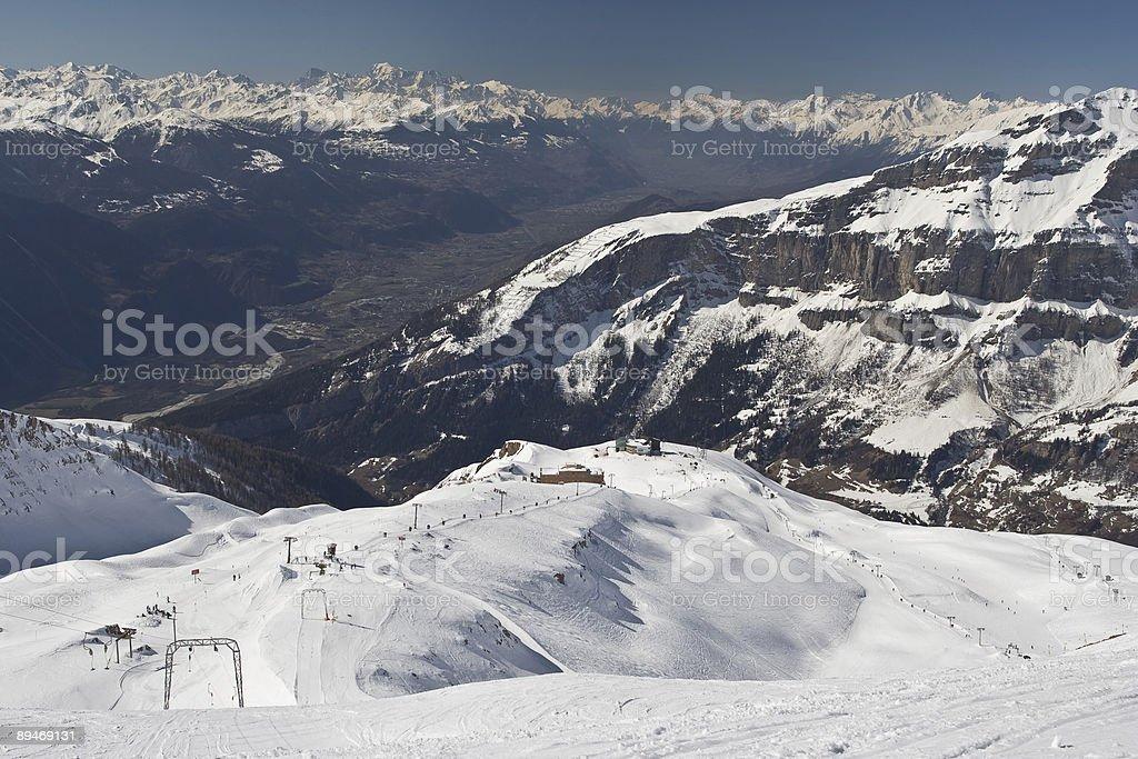 Alp Panorama stock photo