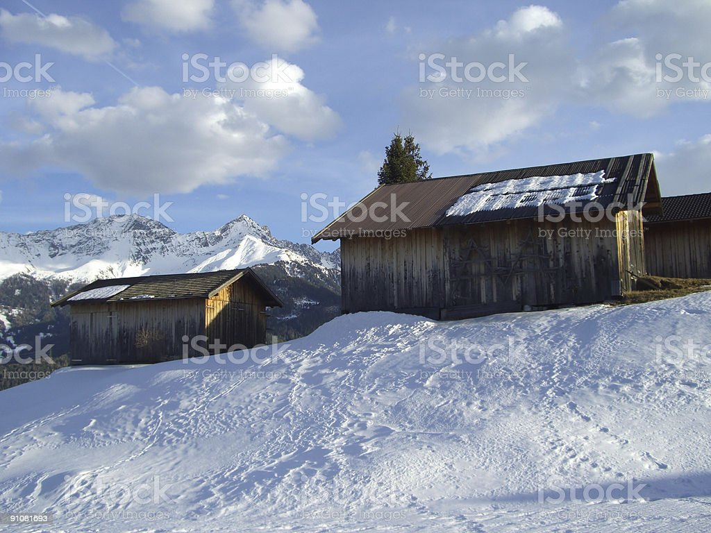 Alp stock photo
