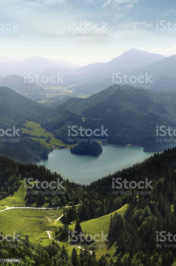 Alp View royalty-free stock photo