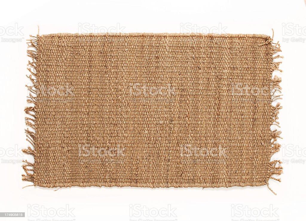 Alpaca throw rug stock photo