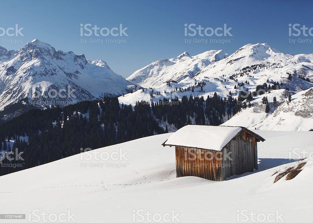 alpe buerrstegg 6 royalty-free stock photo