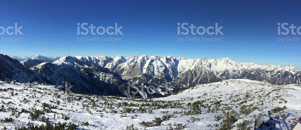 Alpen in Österreich stock photo