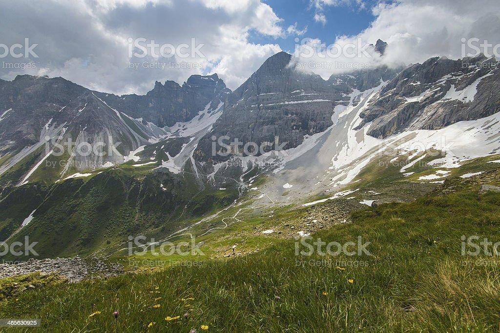 Alpen landscape royalty-free stock photo