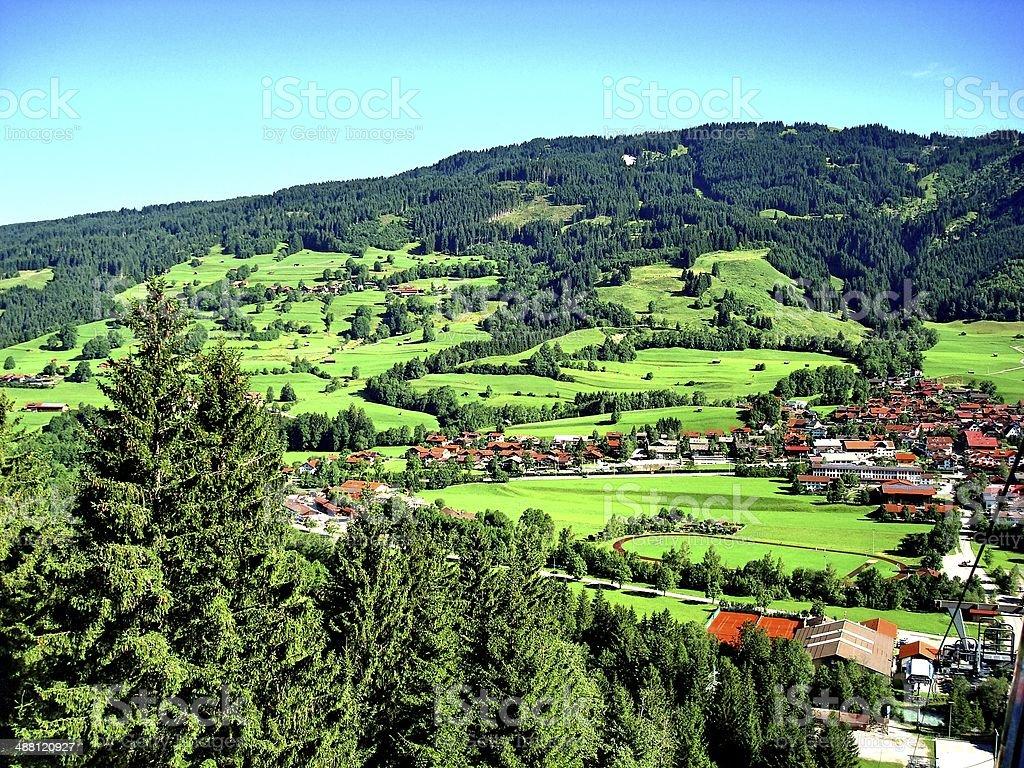 Alpen stock photo