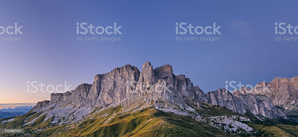 Alpenglow stock photo