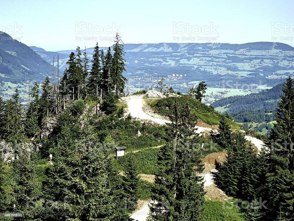 Alpenland stock photo