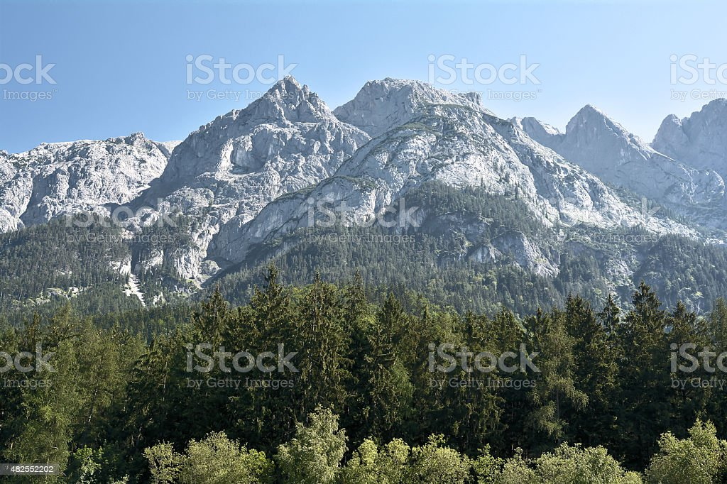 Alpenlandschaft in ?sterreich stock photo