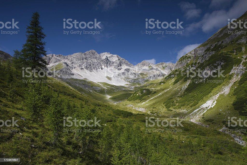 alperschon joch royalty-free stock photo