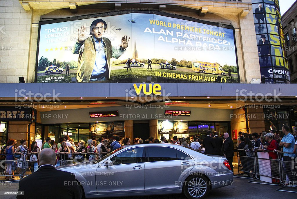 Alpha Papa movie premiere, London royalty-free stock photo