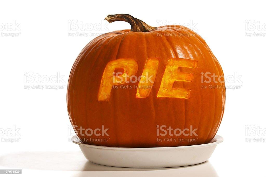 Alpha Pumpkin Pie stock photo