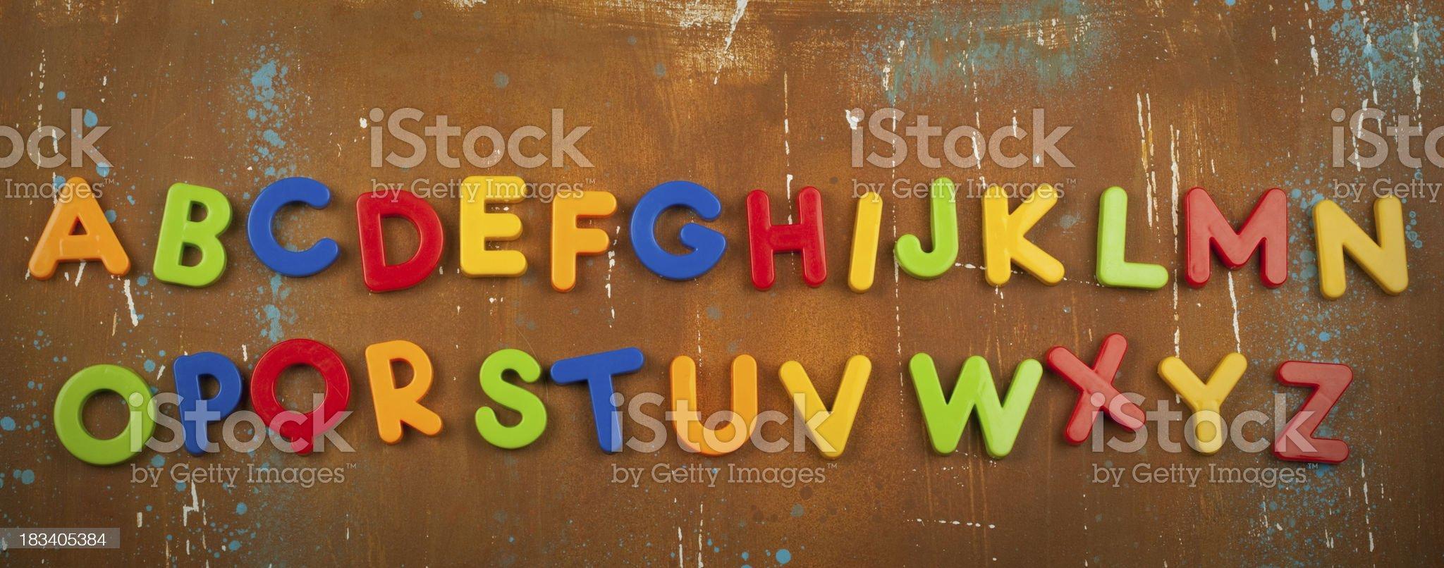 Alphabet background royalty-free stock photo