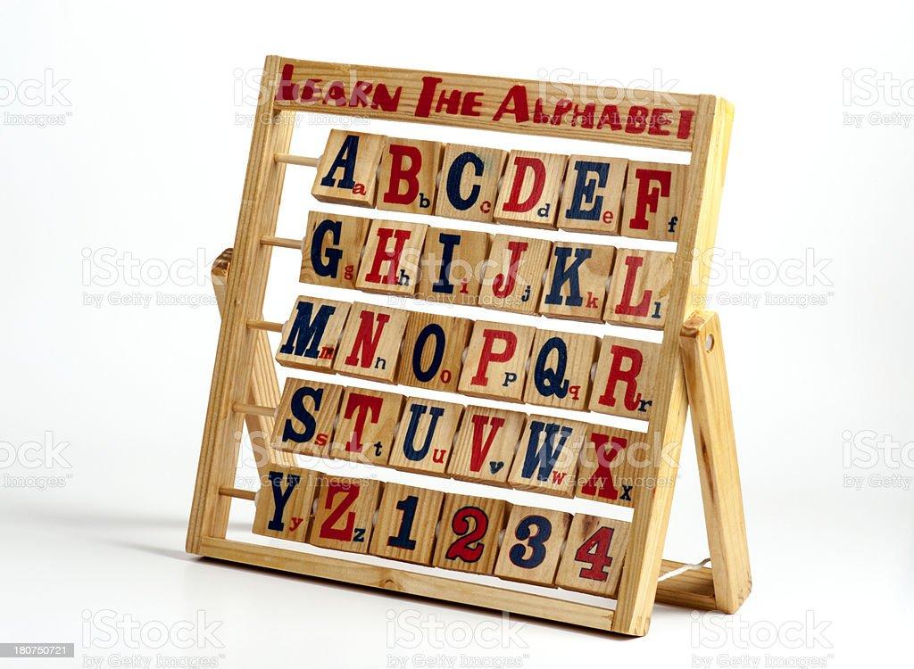 Alphabet Block royalty-free stock photo