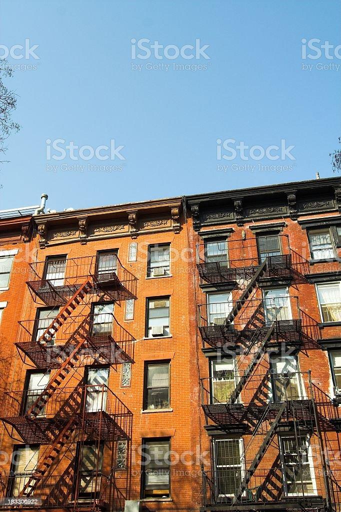 Alphabet City Apartments stock photo