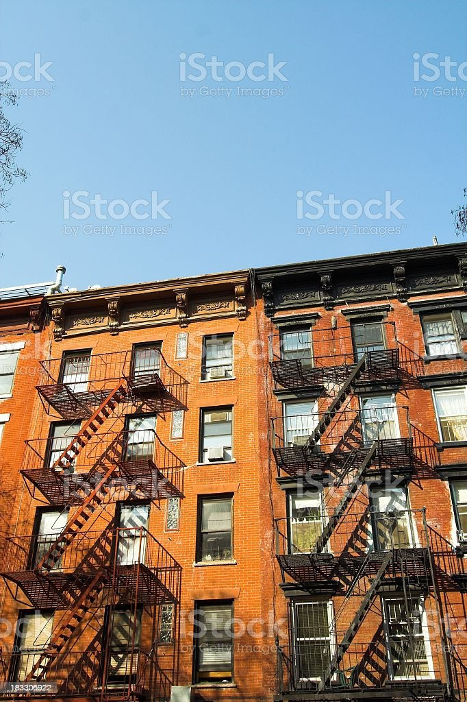 Alphabet City Apartments stock photo