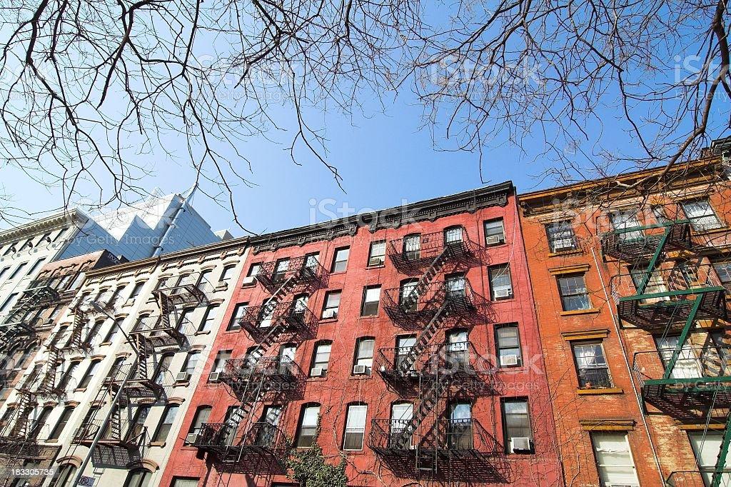 Alphabet City Housing royalty-free stock photo