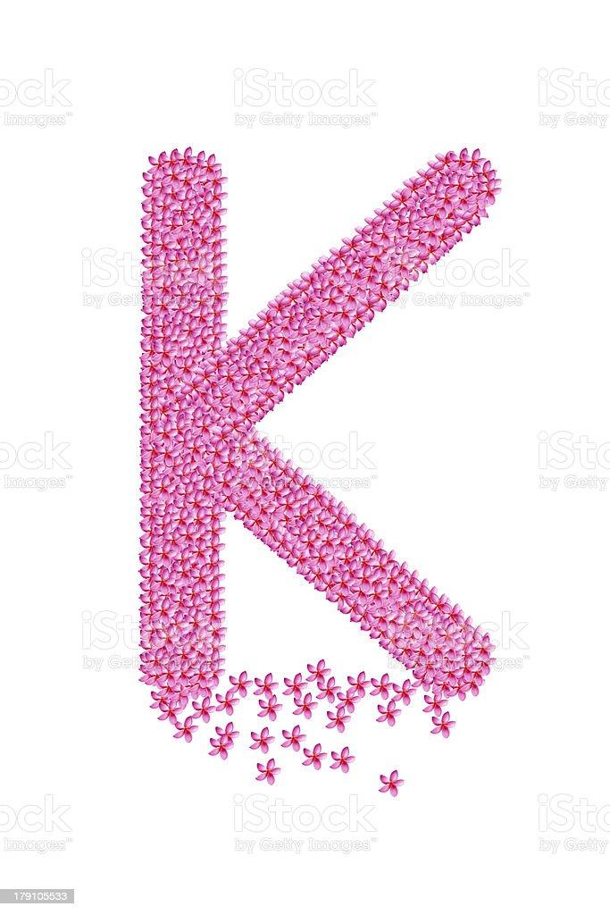 Alphabet design royalty-free stock photo