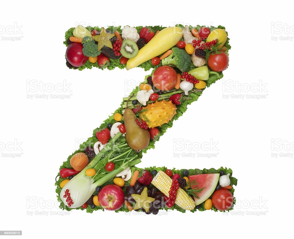 Alphabet of Health - Z royalty-free stock photo