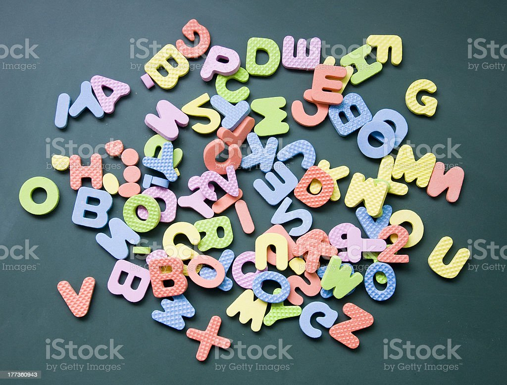 alphabet sign royalty-free stock photo