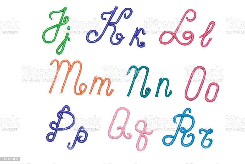 alphabet2 royalty-free stock photo