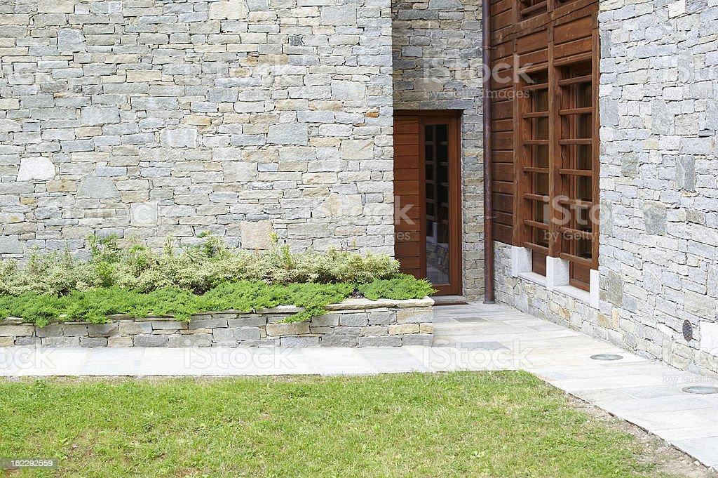 Alpine Architecture royalty-free stock photo