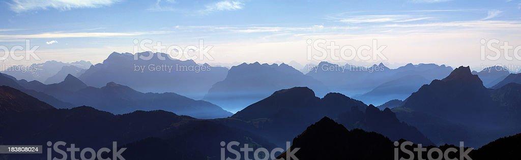 Alpine Autumn stock photo
