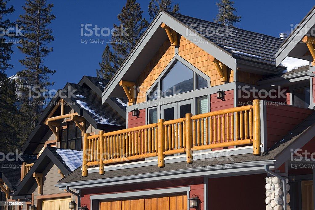 Alpine Chalet royalty-free stock photo