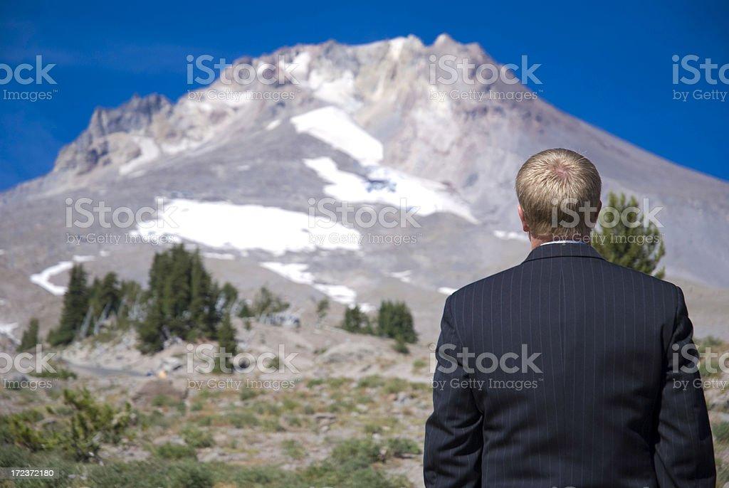 Alpine Challenge royalty-free stock photo