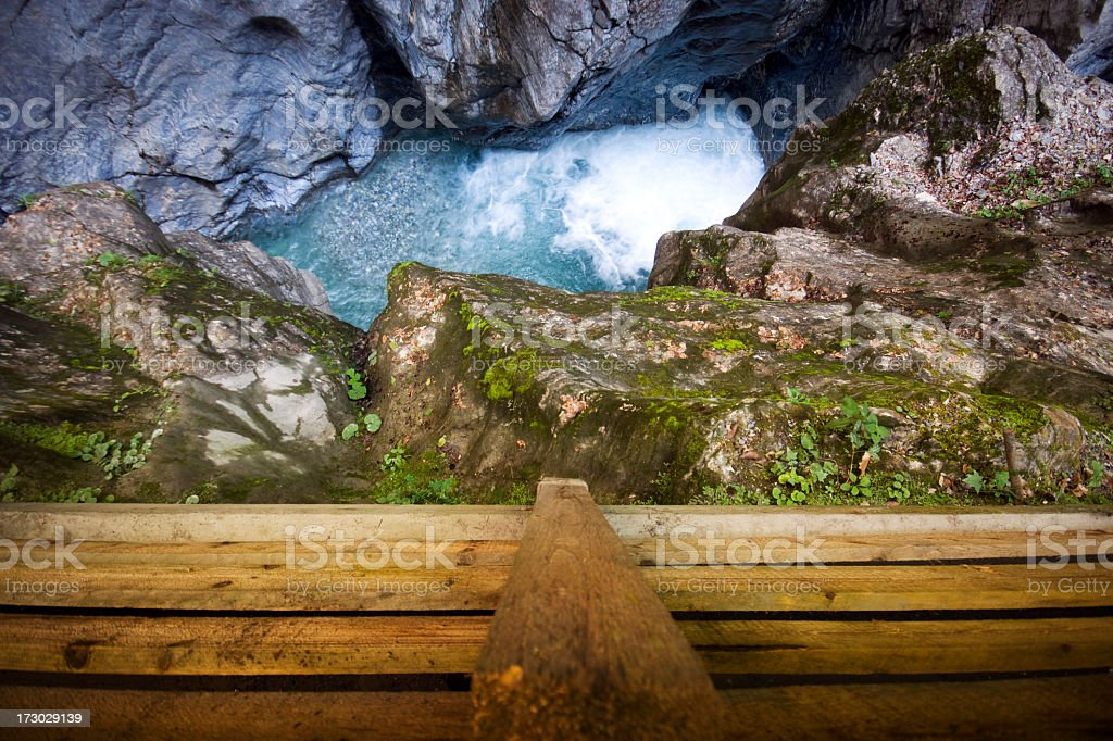 Alpine Chasm royalty-free stock photo