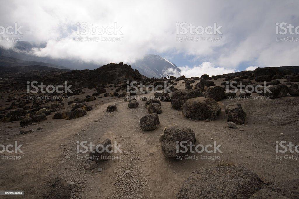 alpine desert royalty-free stock photo