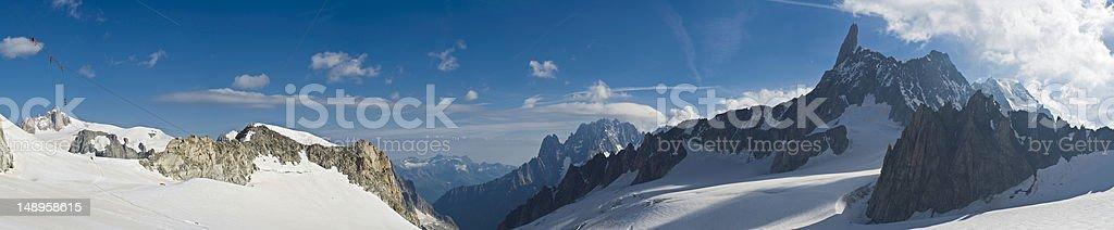 Alpine explore mountain high wilderness royalty-free stock photo
