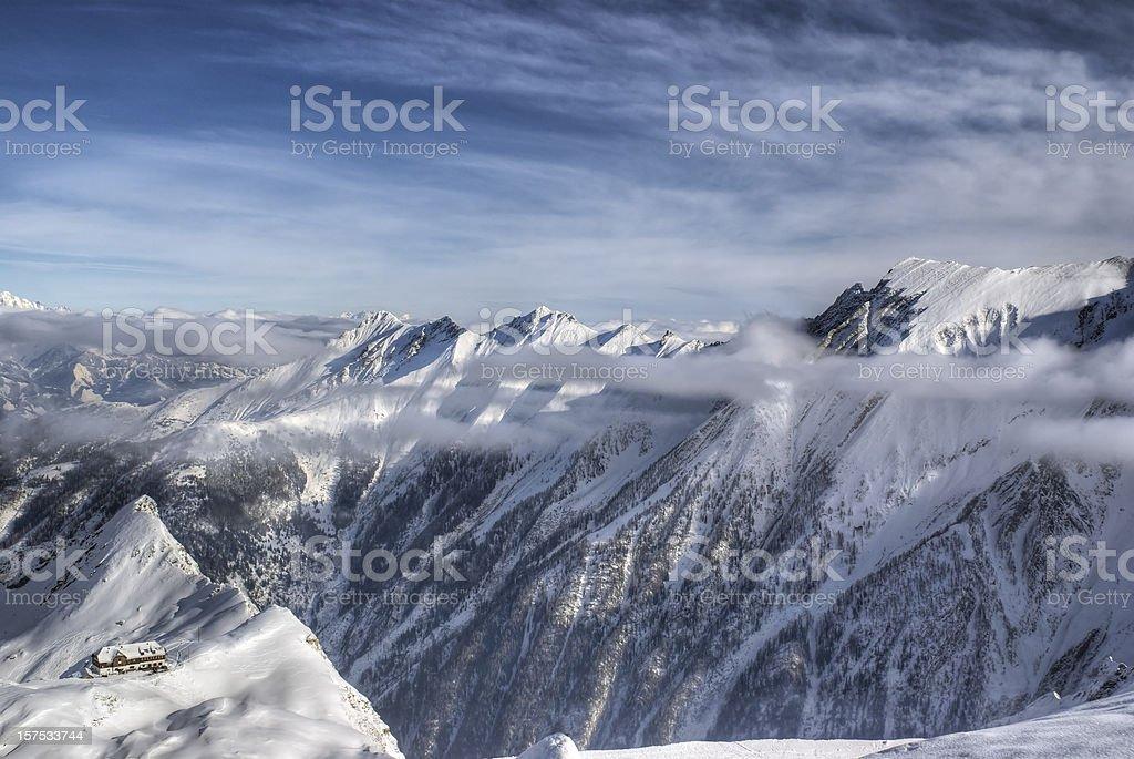 Alpine Getaway stock photo