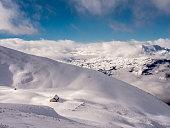 Alpine hut deep in the snow - 3