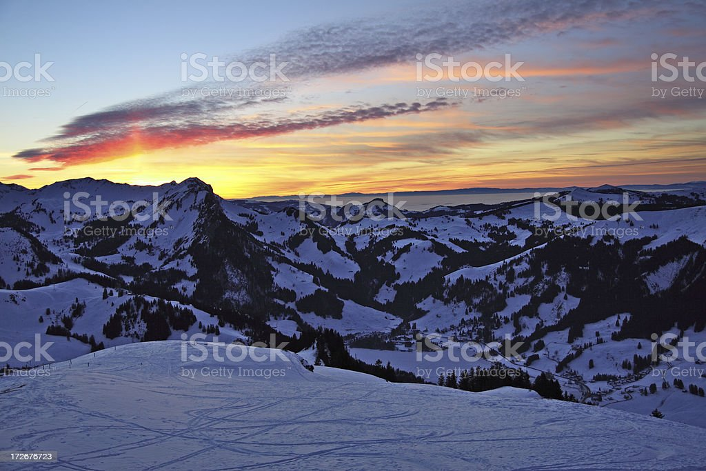 Alpine Idyll royalty-free stock photo