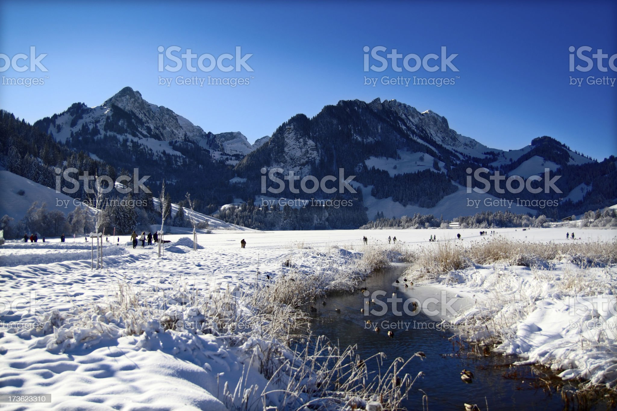Alpine Idyll royalty-free stock photo