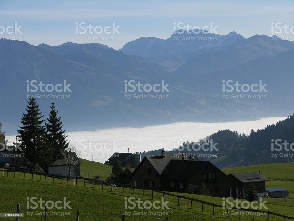 alpen see royalty-free stock photo