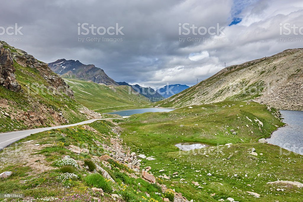 Alpine Lakes stock photo