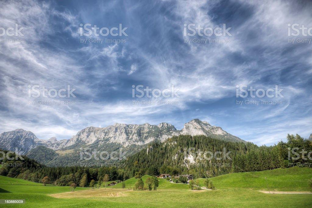 Alpine Landscape stock photo