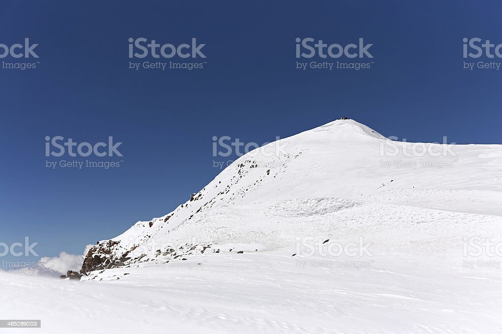 alpine mountain landscape stock photo