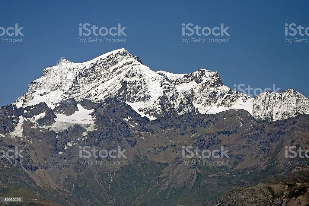 Alpine mountains royalty-free stock photo