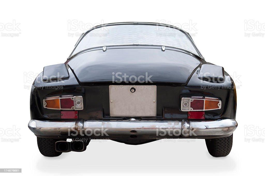 Alpine Renault a110 black royalty-free stock photo