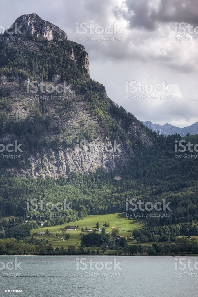 Alpine Scenic stock photo