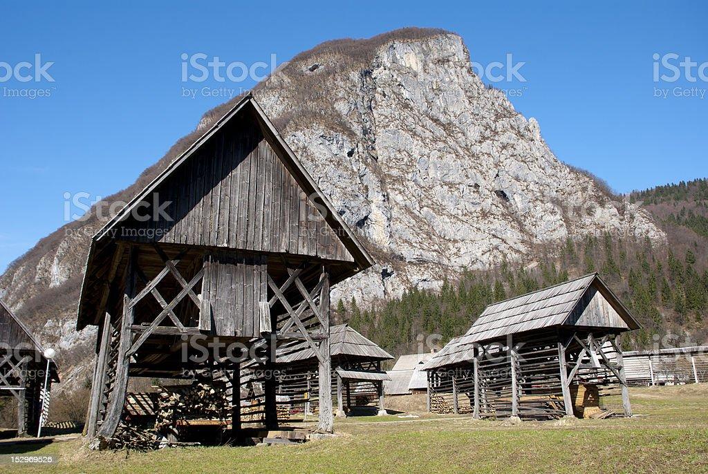 Alpine Slovenia royalty-free stock photo