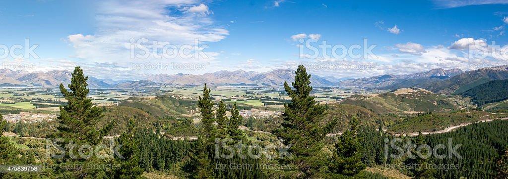 Alpine Summer Landscape stock photo