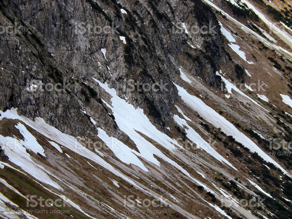 Alpine Thaw stock photo