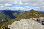 Alpine view from summit of a 46er, Adirondacks, New York