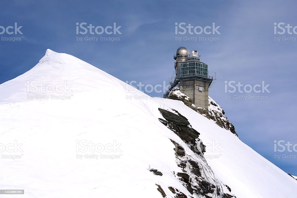'Alpine view', Mountain, Observatory, Viewpoint royalty-free stock photo