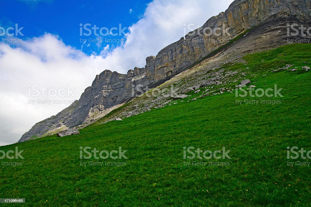 Alpine View royalty-free stock photo