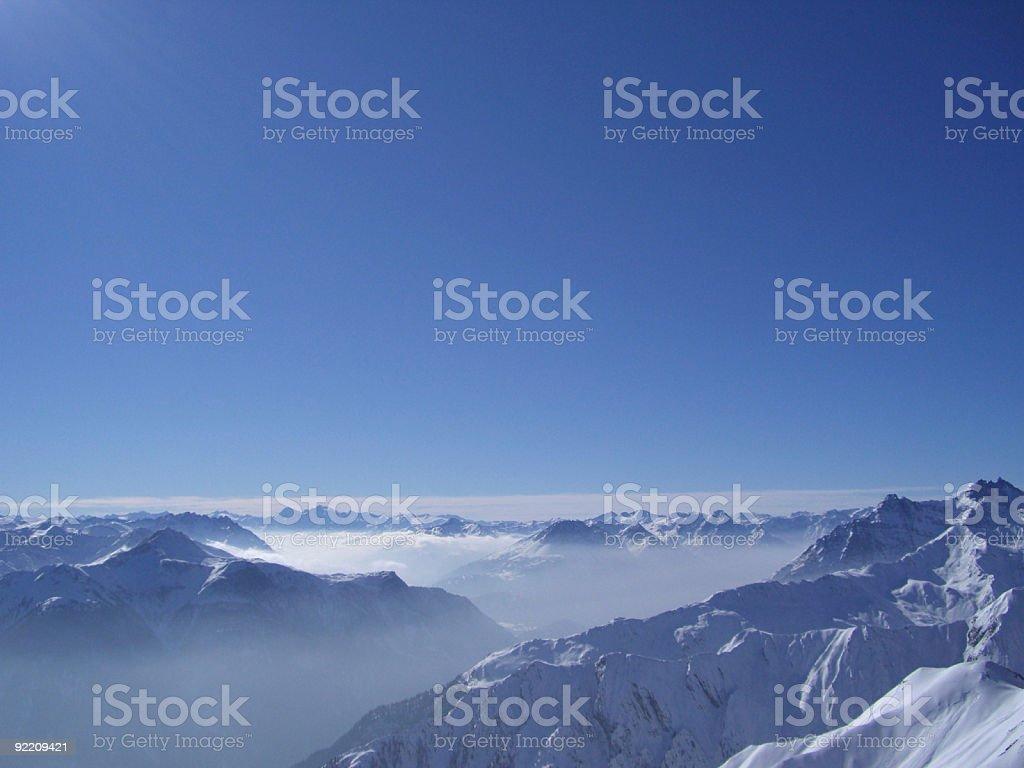Alpine View stock photo