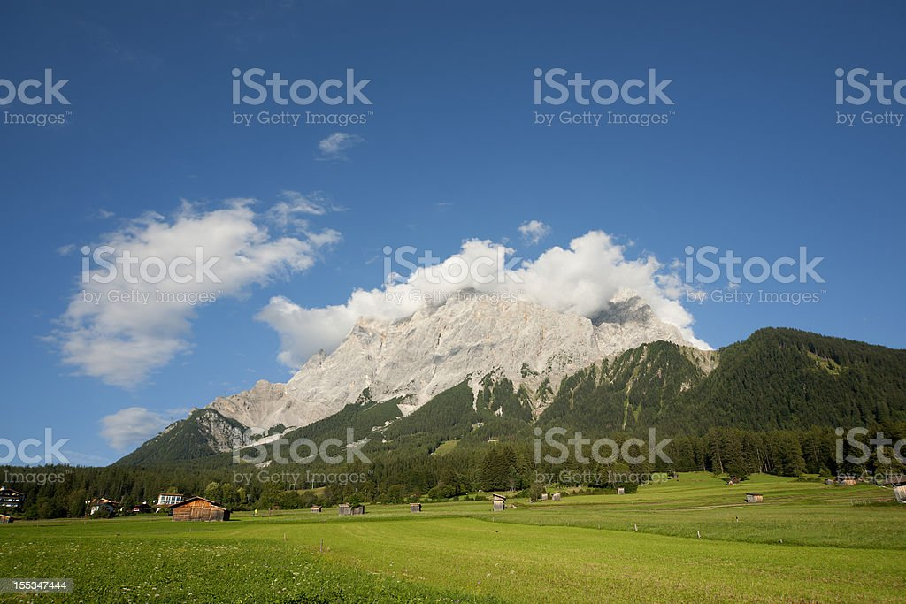 Alpine village royalty-free stock photo