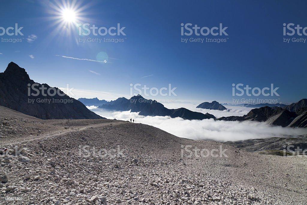 alpine wideness royalty-free stock photo